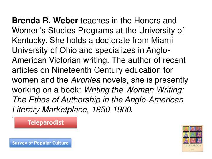 Brenda R. Weber