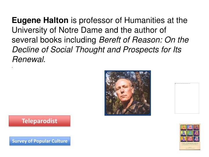 Eugene Halton