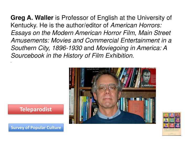 Greg A. Waller