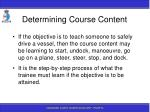 determining course content81