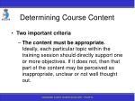 determining course content82