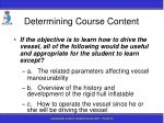 determining course content84