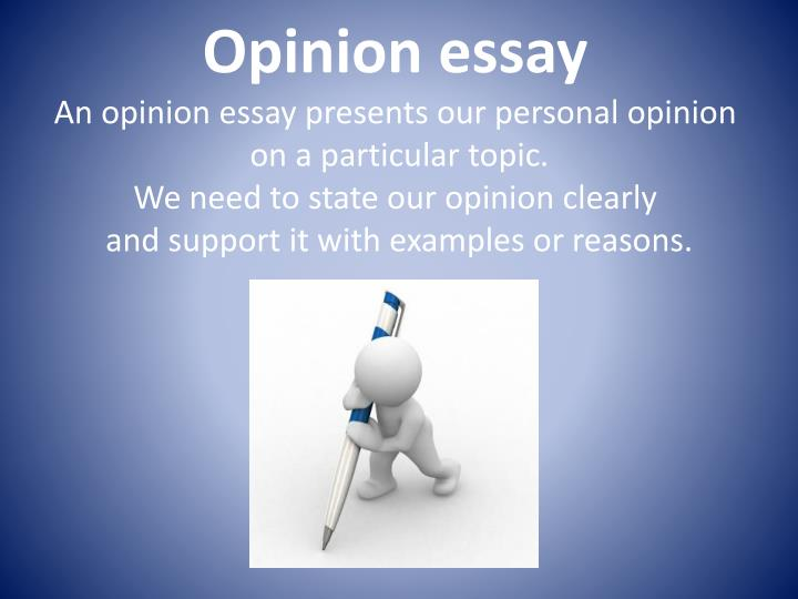 opinion essay on friendship