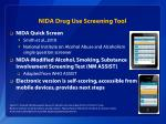 nida drug use screening tool