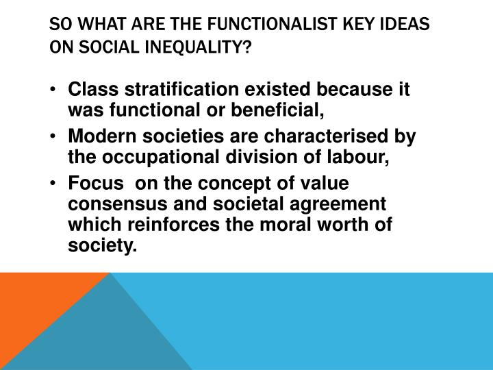 functionalist idea a society built around A rational society is one built around logic and efficiency rather than morality or tradition to weber, capitalism is entirely rational although this leads to efficiency and merit-based success, it can have negative effects when taken to the extreme.