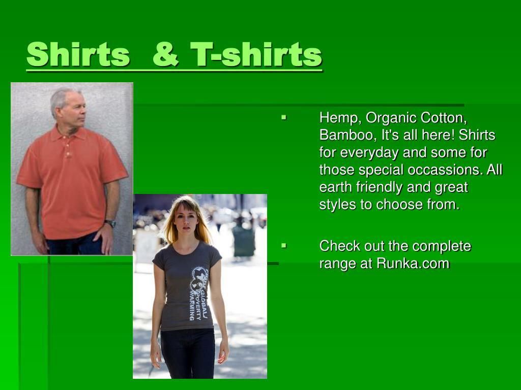 Shirts  & T-shirts