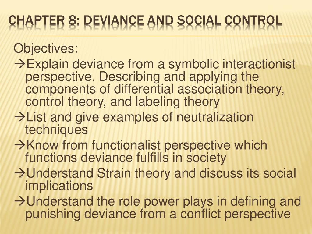 examples of labeling theory of deviance