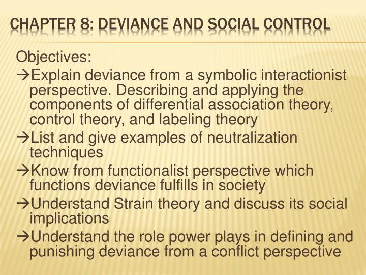 Ppt Chapter 8 Deviance And Social Control Powerpoint Presentation