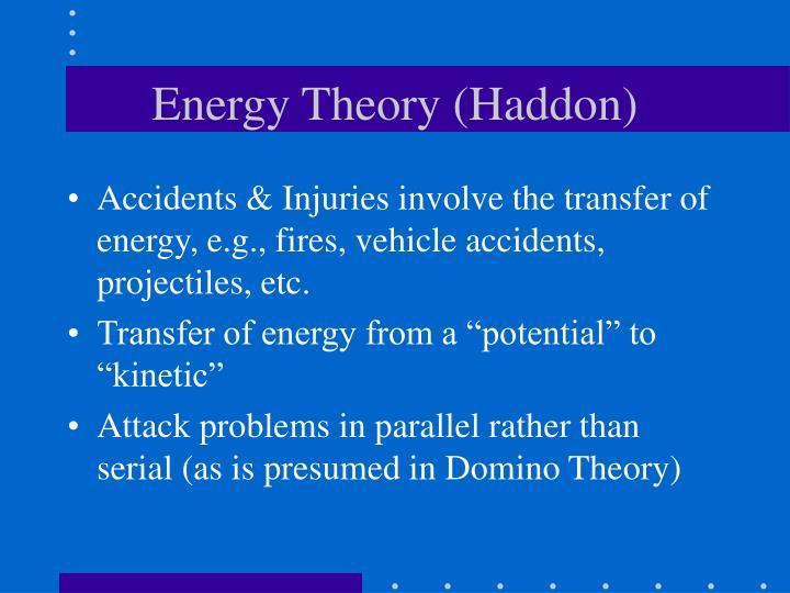 Energy Theory (Haddon)
