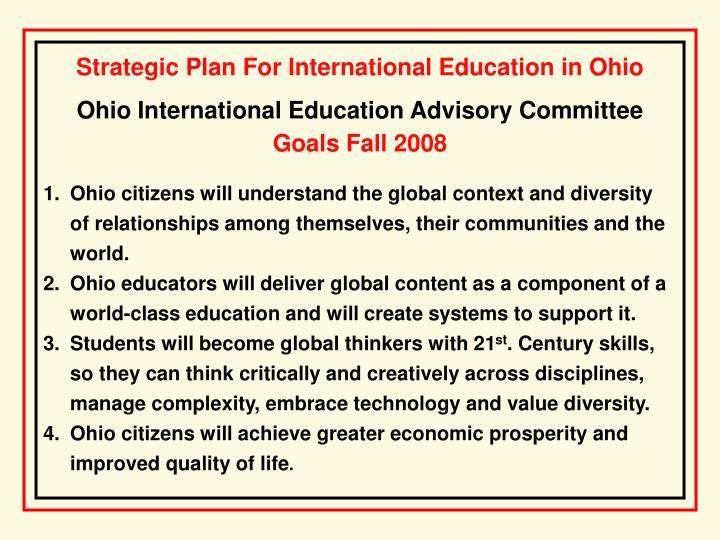 Ohio International Education Advisory Committee
