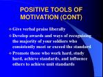 positive tools of motivation cont24