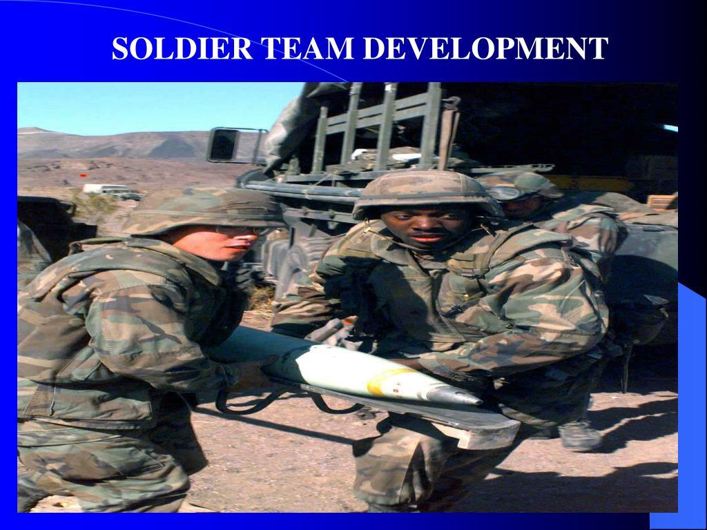SOLDIER TEAM DEVELOPMENT
