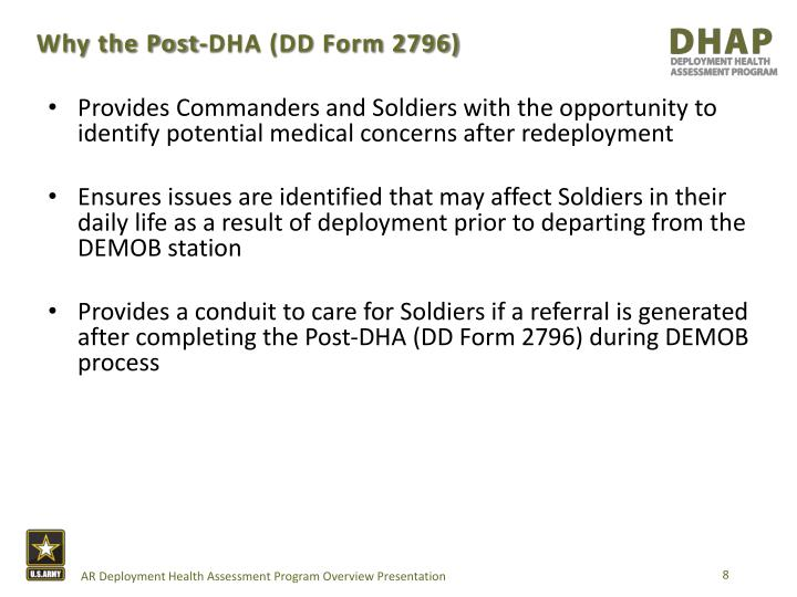 PPT - Army reserve deployment health assessment program PowerPoint ...