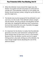 pass protection drills pass blocking part iv1