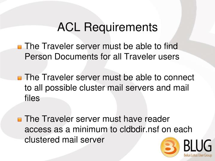 ACL Requirements