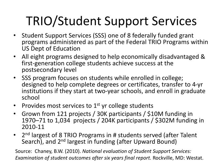 TRIO/Student Support Services