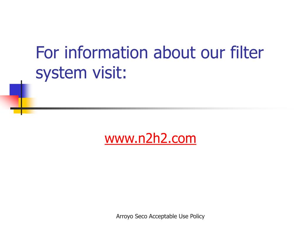 For information about our filter system visit: