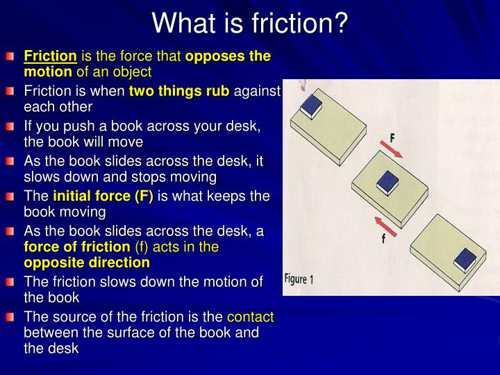 what is friction n.