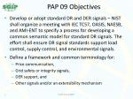 pap 09 objectives