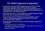 eu global approach to migration