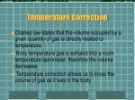 temperature correction13