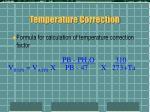 temperature correction15