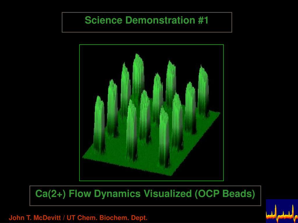 Science Demonstration #1