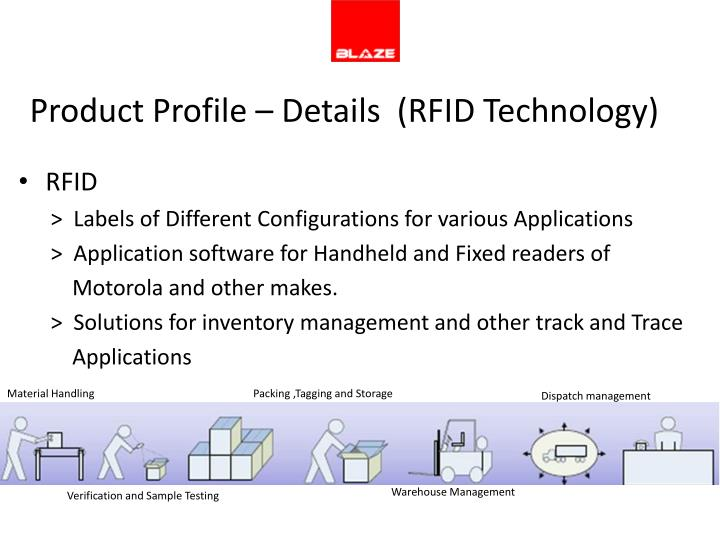 Product Profile – Details  (RFID Technology)