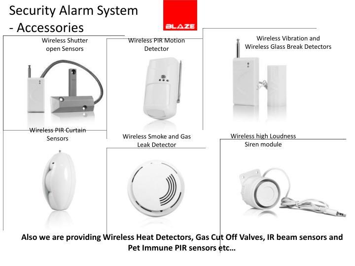 Security Alarm System