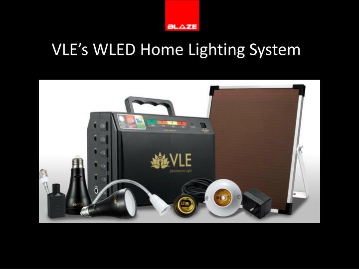 VLE's WLED Home Lighting System