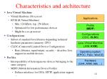 characteristics and architecture