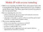 mobile ip with reverse tunneling13