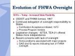 evolution of fhwa oversight9