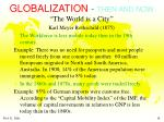 globalization then and now