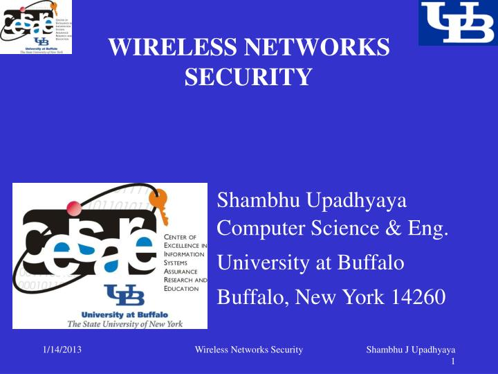 wireless networks security n.
