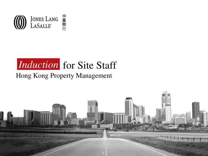 for site staff hong kong property management n.