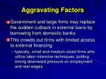 aggravating factors