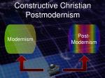 constructive christian postmodernism