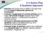 3 action plan a systemic approach
