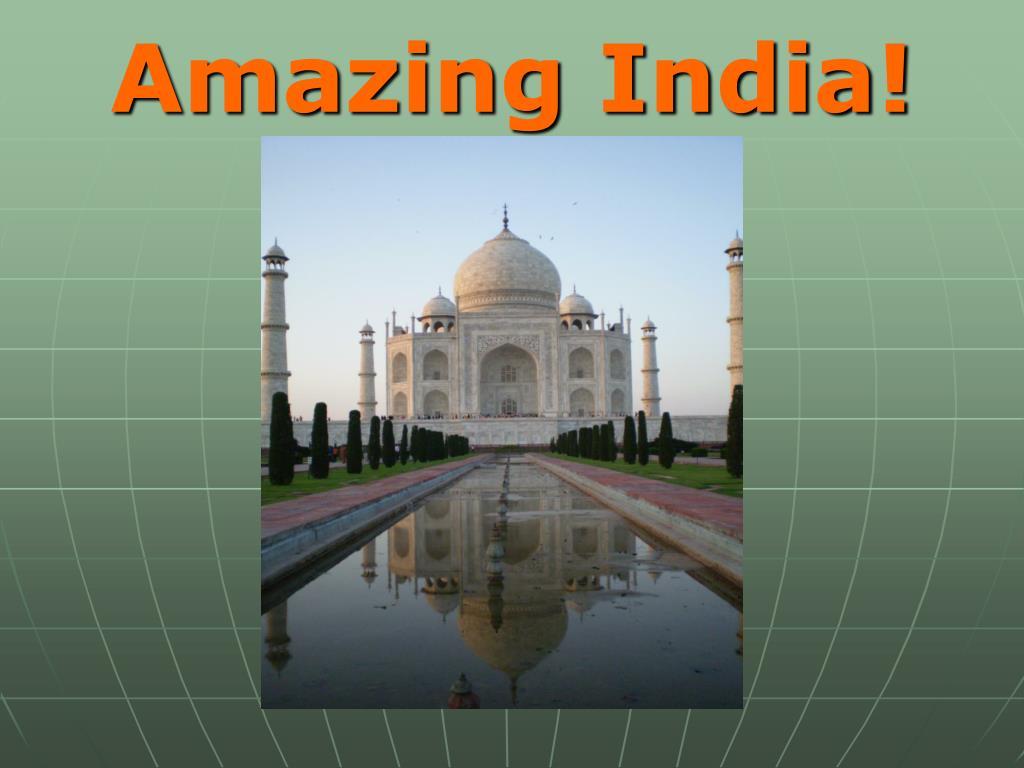 amazing india l.