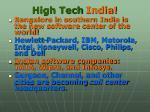 high tech india