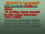 world s largest