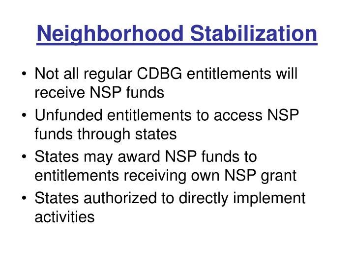 Neighborhood stabilization1