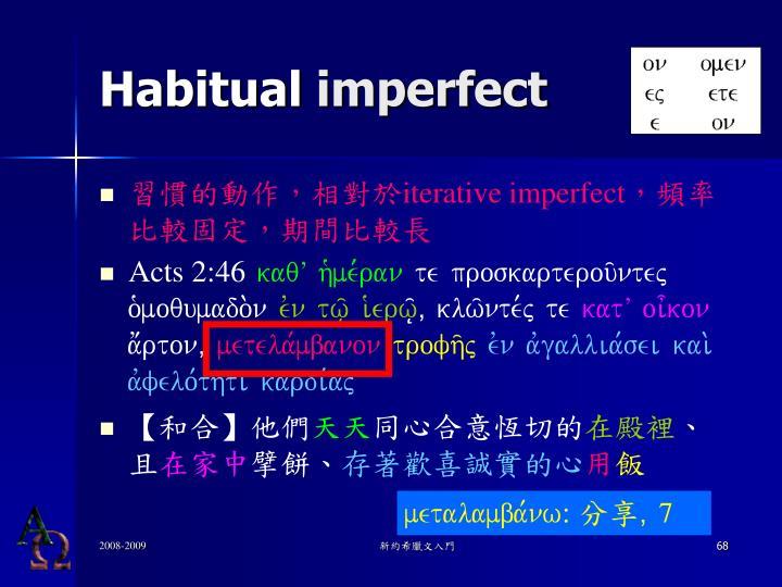 Habitual