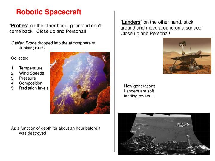 Robotic Spacecraft