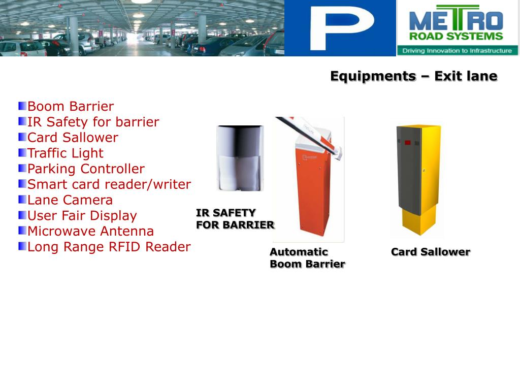 PPT - Multilevel Parking Management & Guidance Systems PowerPoint