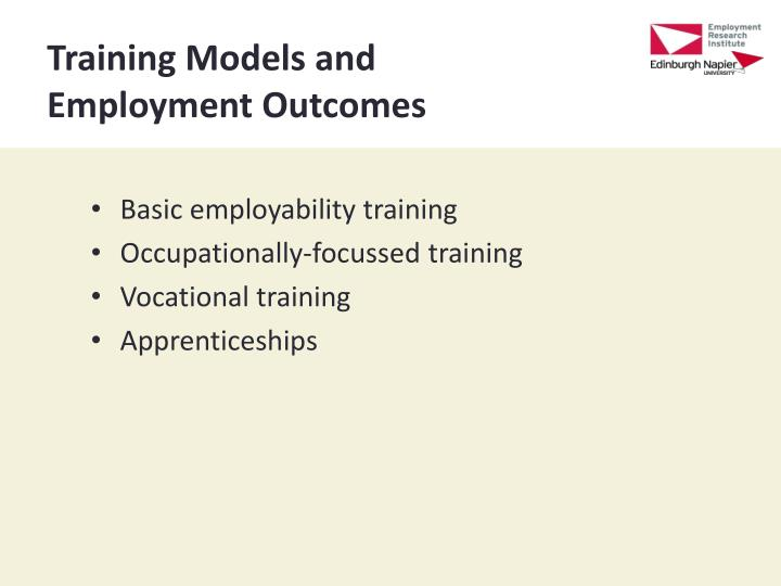 Training Models and
