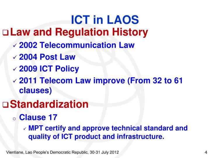 ICT in LAOS