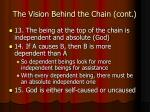 the vision behind the chain cont7
