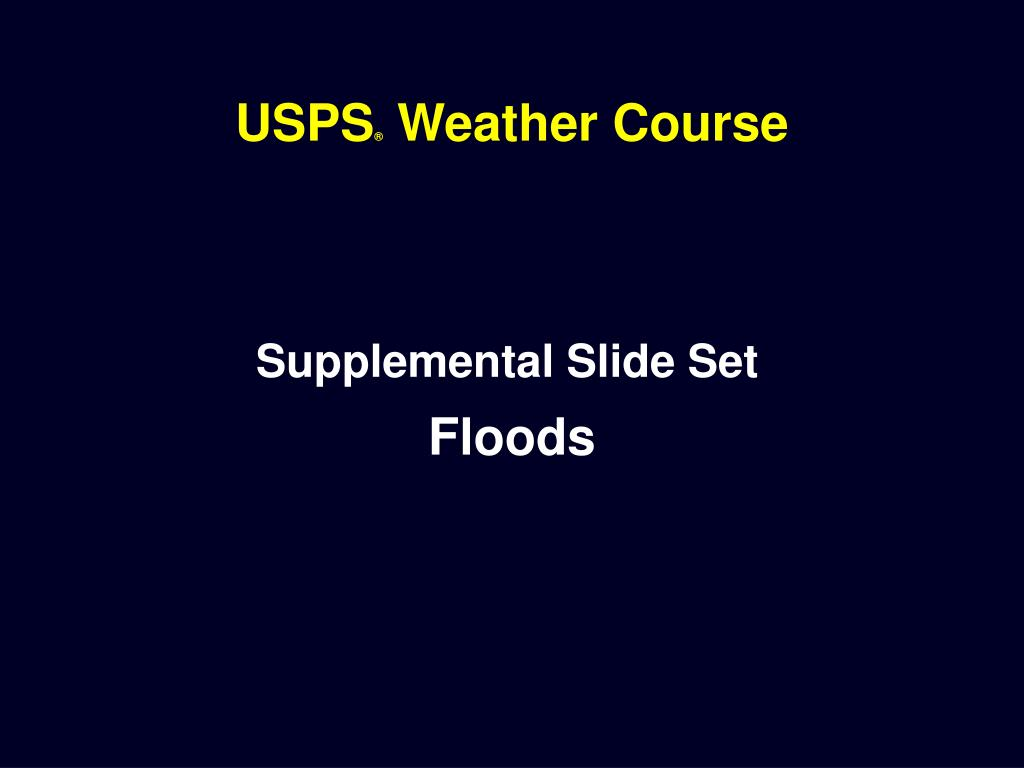 usps weather course l.